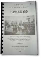 A Book of Old Milton County Recipes.