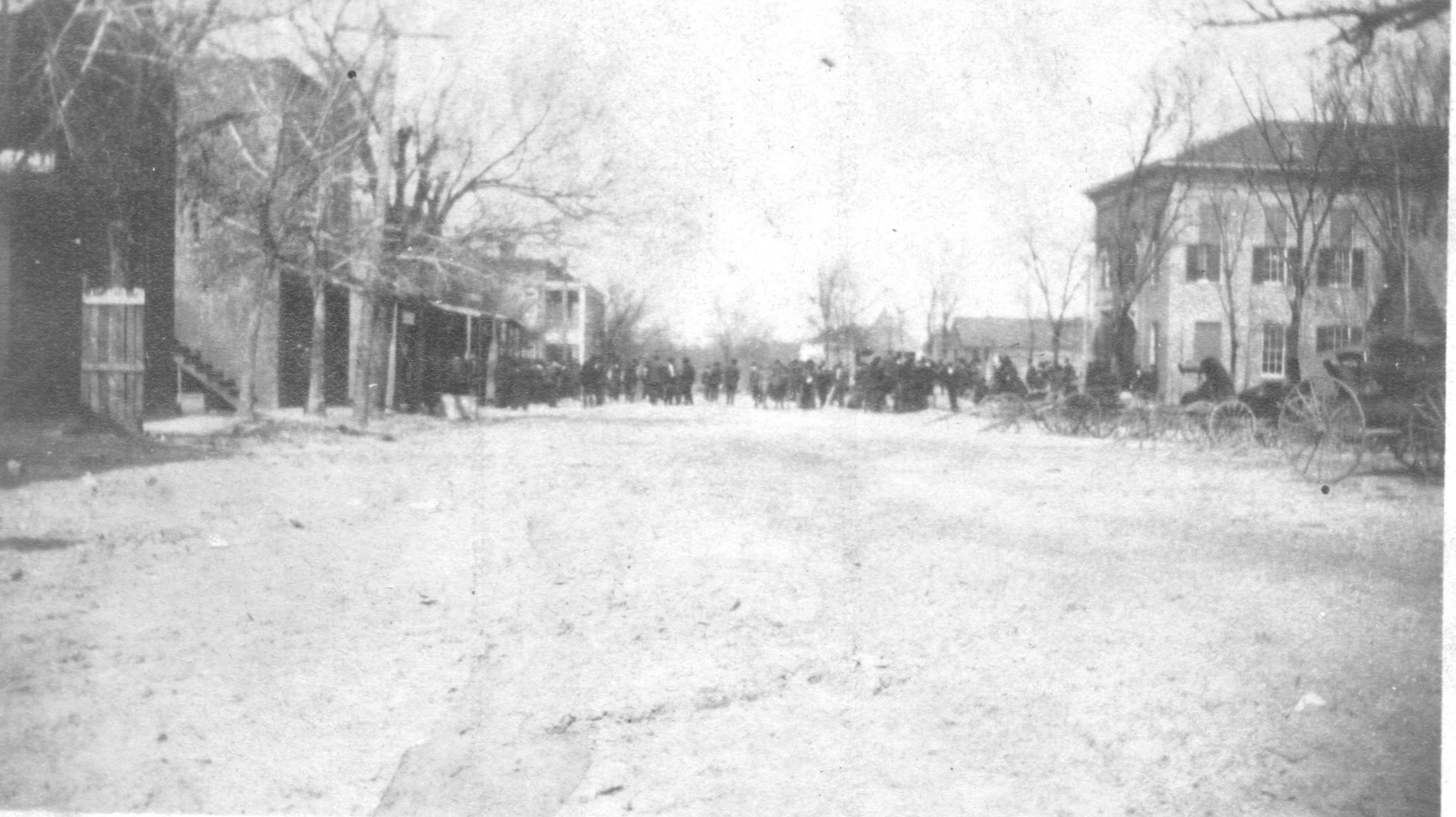 line in front of court house_photo taken between 1905_1910 copy