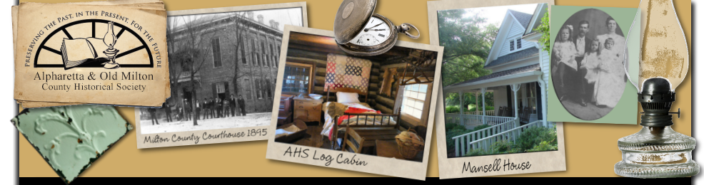 Alpharetta & Old Milton County Historical Society